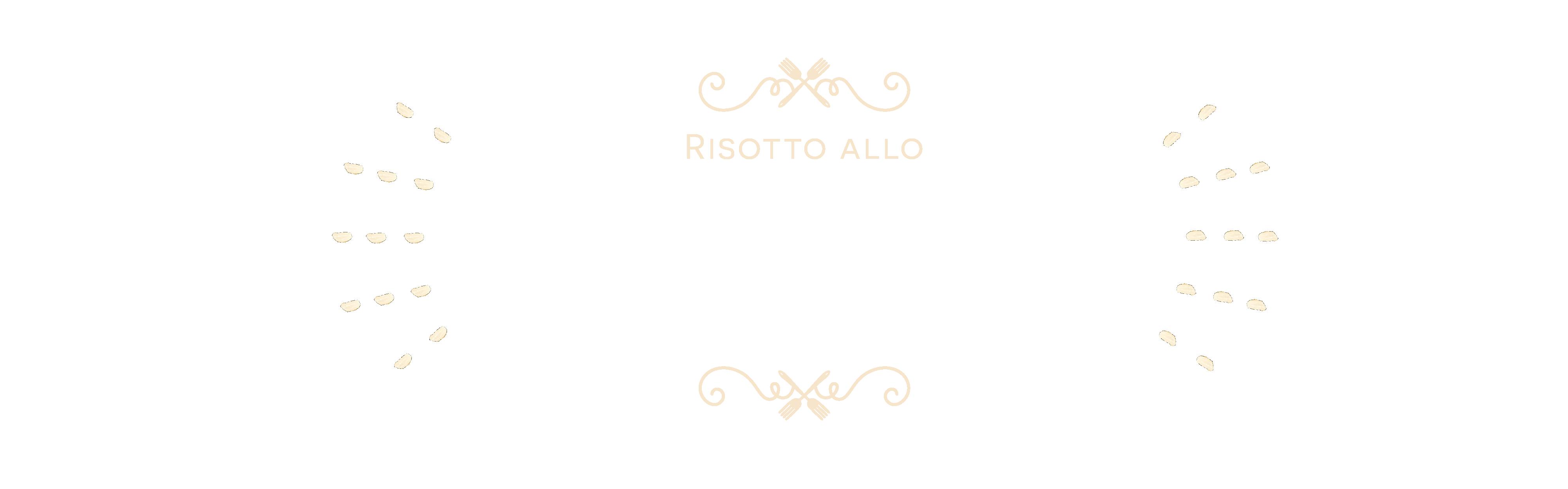 Risotto alla champagne con ragù di cape sante e caviale